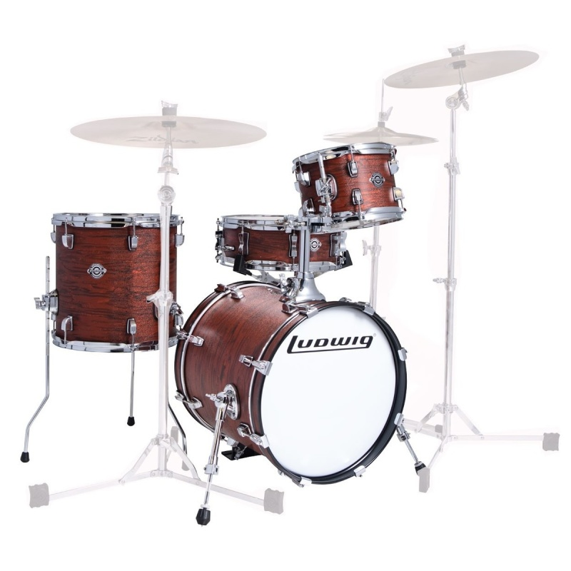 Ludwig Questlove Breakbeats 16in 4pc Shell Pack – Mojave Swirl