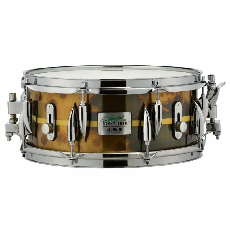 Sonor Benny Greb 13×5.75in Brass Signature Snare Drum – BG SDB 2.0