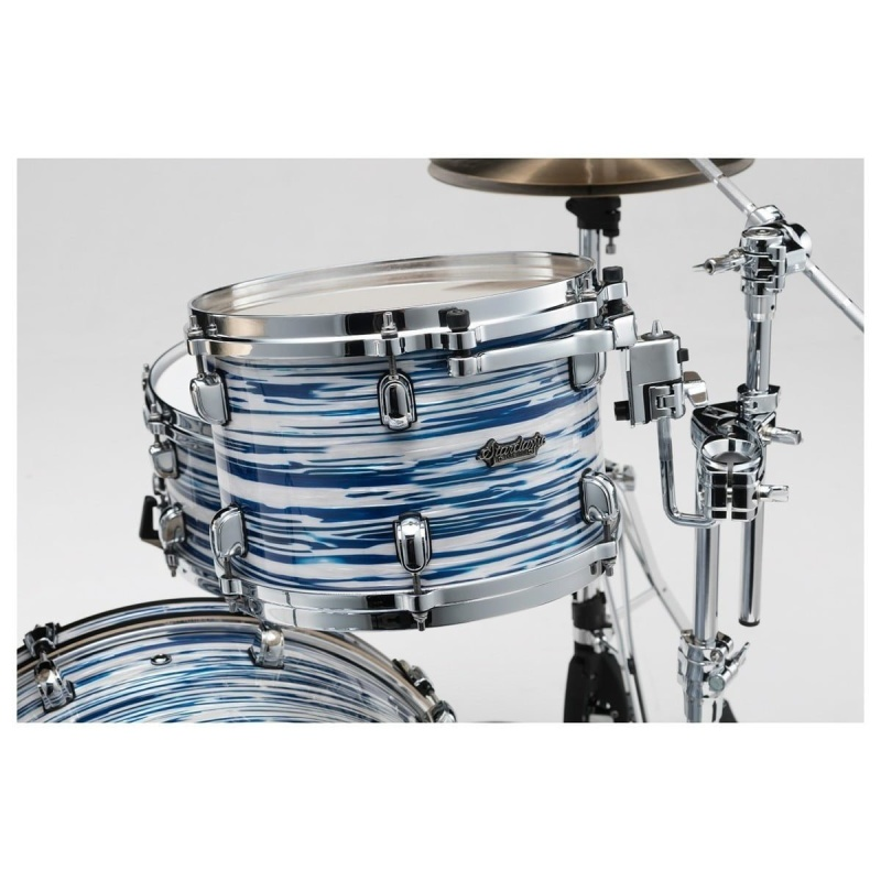 Tama Starclassic Maple 20in 3pc Shell Pack – Blue and White Oyster