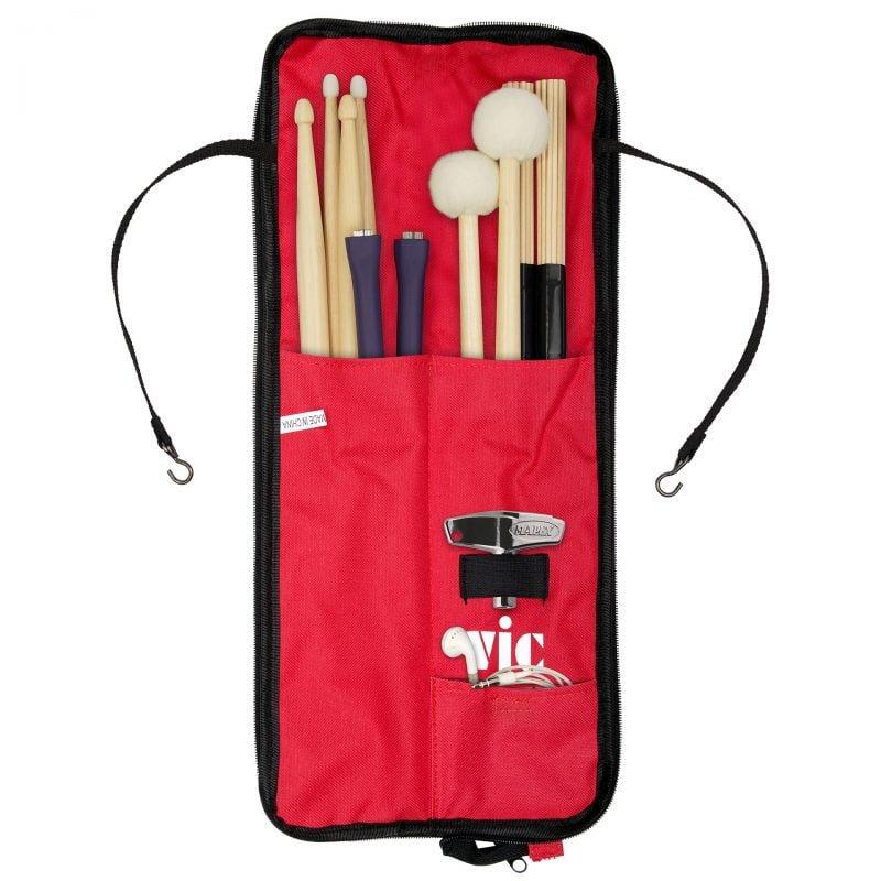 Vic Firth Essentials Stick Bag – Red