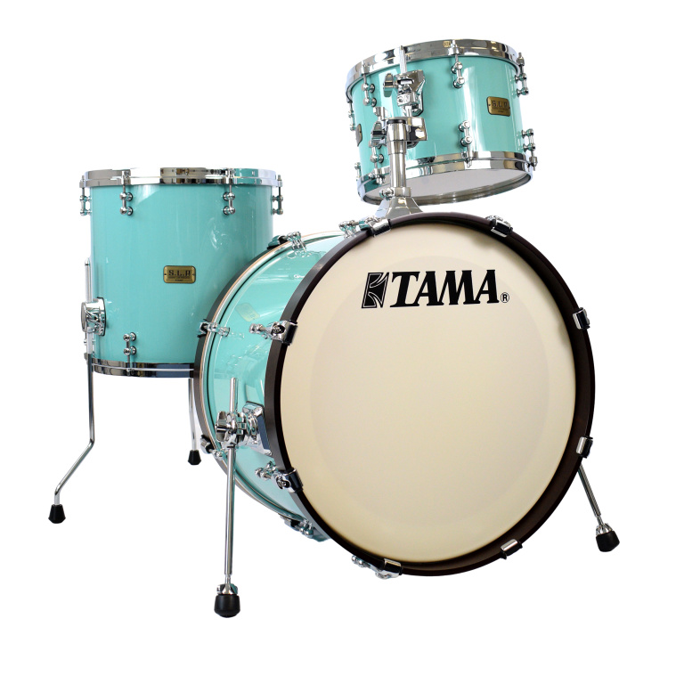 Tama SLP Fat Spruce 20in 3pc Shell Pack – Turquoise