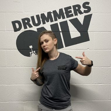 Drummers Only Grey T-Shirt