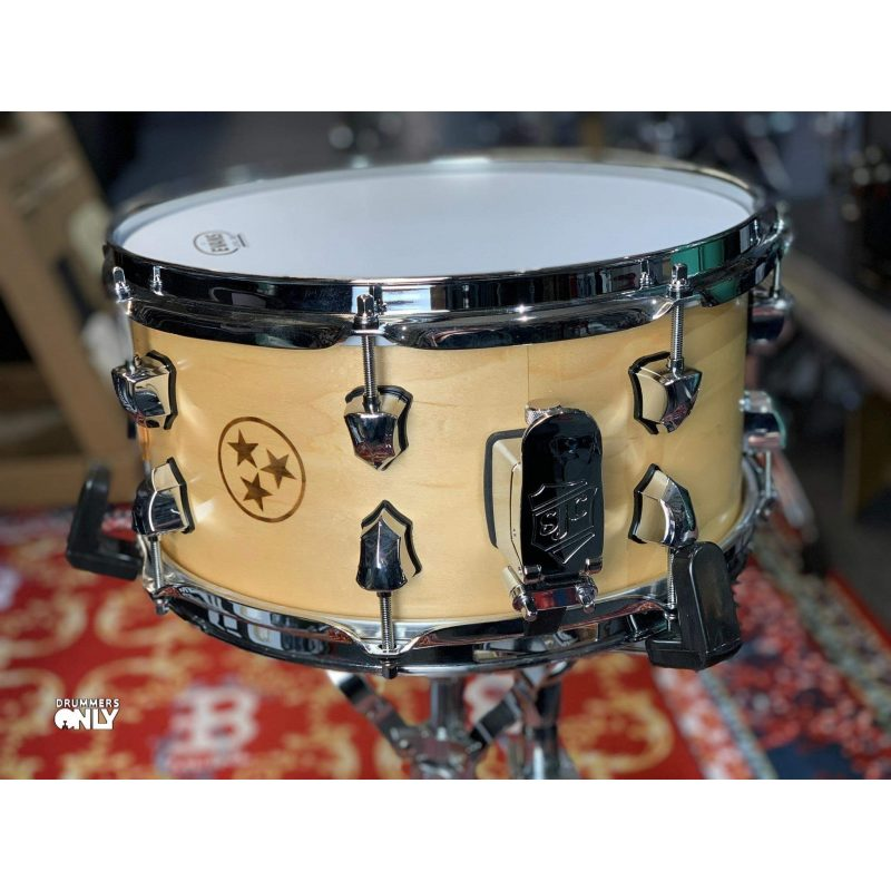SJC Drums Custom 13×6.5in Maple Tri-Star Snare Drum
