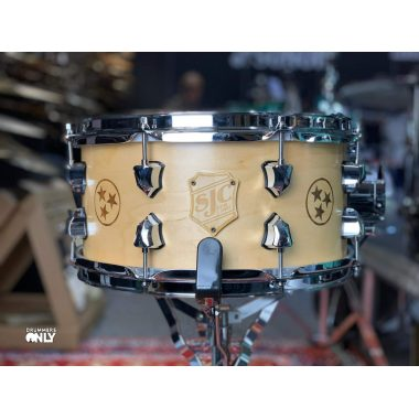 SJC Drums Custom 13×6.5in Maple Tri-Star Snare Drum