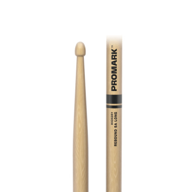 ProMark Rebound 5A Long Hickory Drumsticks RBH565LAW – Wood Tip