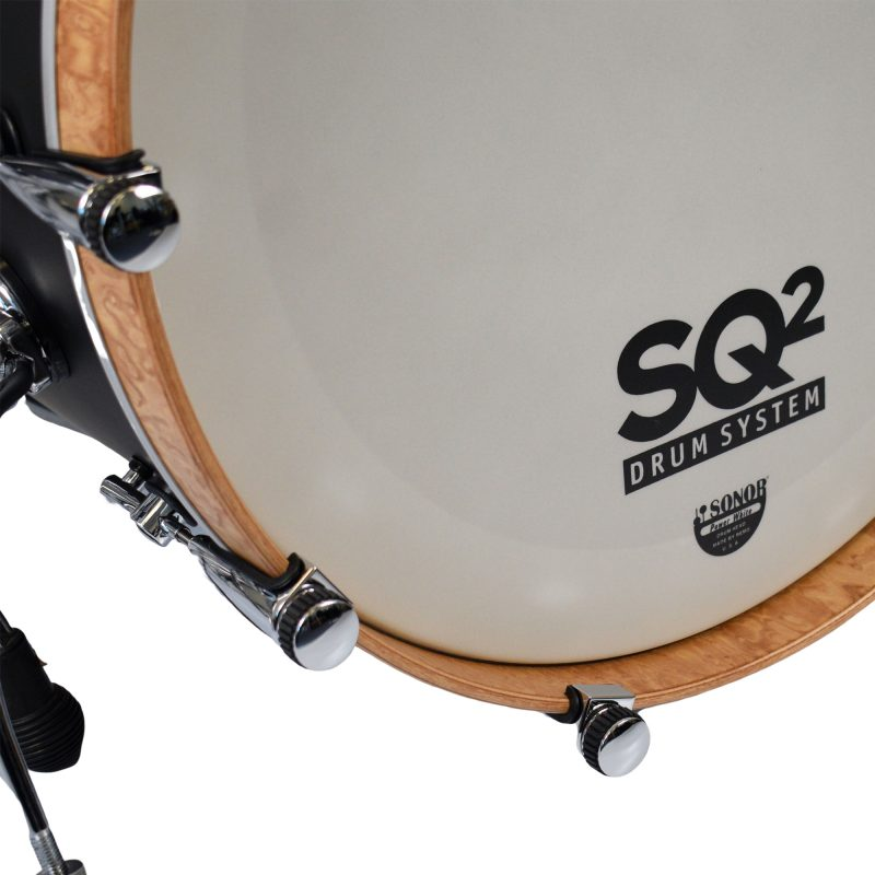 Sonor SQ2 22in 4pc Shell Pack – Dark Satin