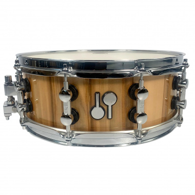 Sonor SQ2 14x5in Maple Snare – American Walnut, High Gloss