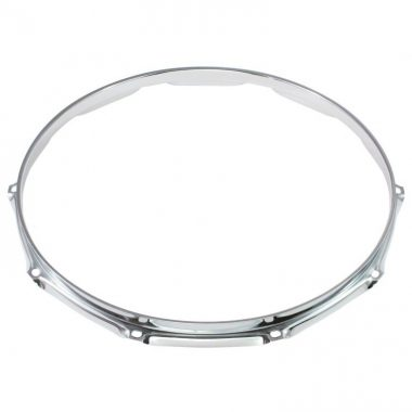 WorldMax 14in Triple Flanged 8 Lug Hoop – Chrome