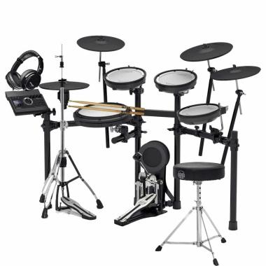 Roland TD-17KVX V-Drums Electronic Drum Kit – Bundle Package