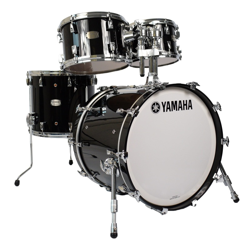 Yamaha Absolute Hybrid Maple 20in 4pc Shell Pack – Solid Black
