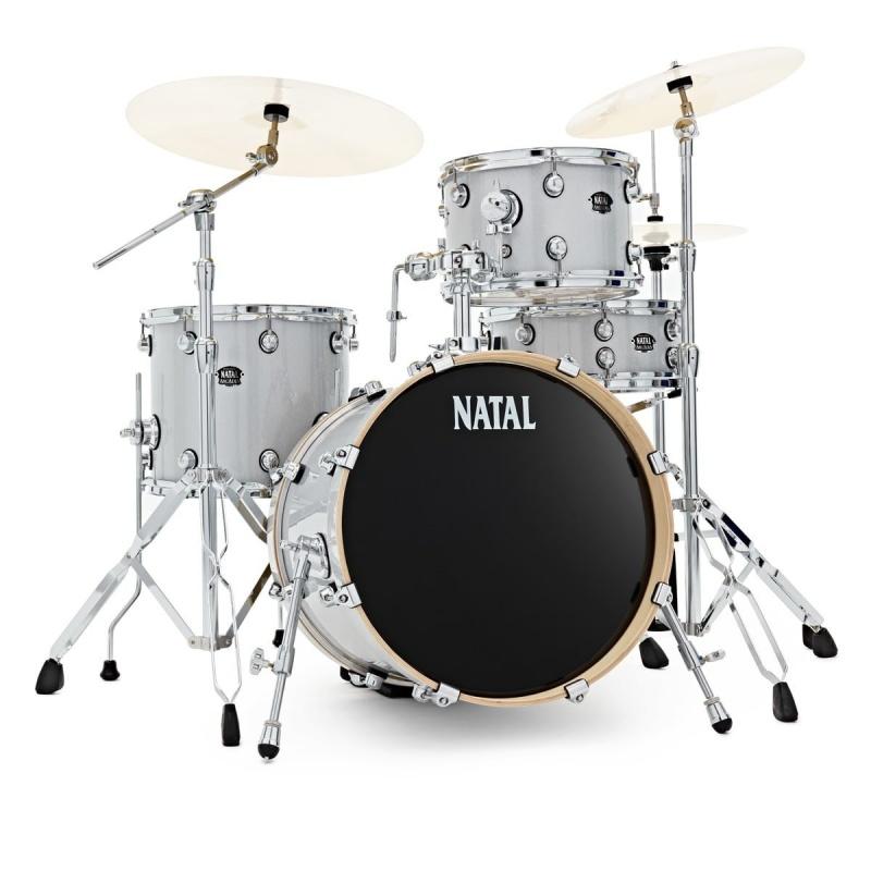 Natal Arcadia Poplar 18in 4pc Shell Pack – White Sparkle