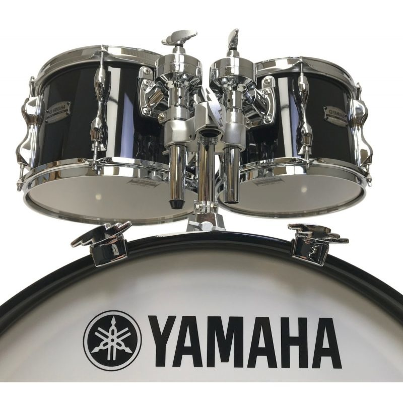 Yamaha Recording Custom 4pc 22in Shell Pack – Solid Black