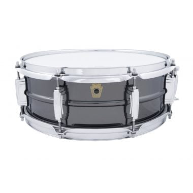 Ludwig Black Beauty 14x5in 8 Lug Brass Snare Drum, LB414