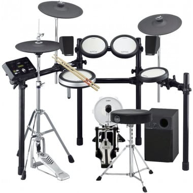 Yamaha DTX582K Electronic Drum Kit – Bundle With Monitoring System Package