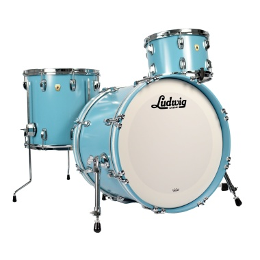 Ludwig Classic Maple 12/14/20 3pc Shell Pack – Heritage Blue