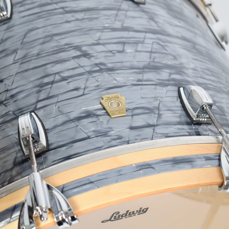 Ludwig Classic Maple 12/16/22 3pc Shell Pack – Sky Blue Pearl