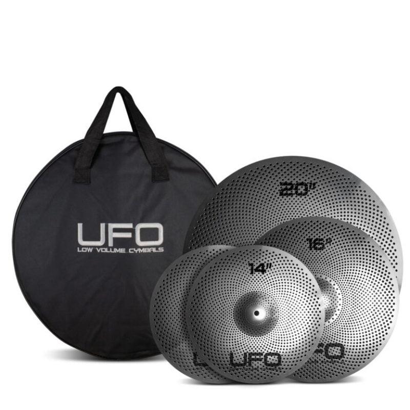 UFO Low Volume Cymbal Set – 14/16/20 Inc. Bag