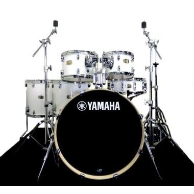 Yamaha Stage Custom Birch 22 6pc Shell Pack – Pure White