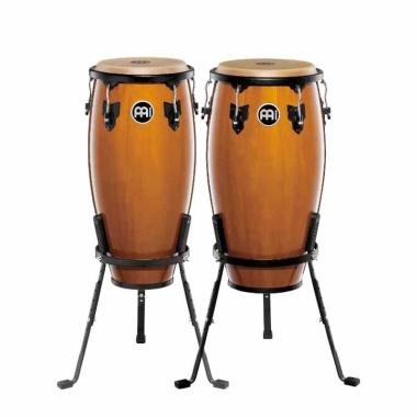 Meinl Headliner Series 11/12 Congas W/Basket Stands – Maple