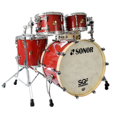 Sonor SQ2 22in 5pc Shell Pack – Ruby Red