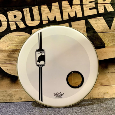 Mapex 22in Black Panther Bass Drum Head – Pre-owned