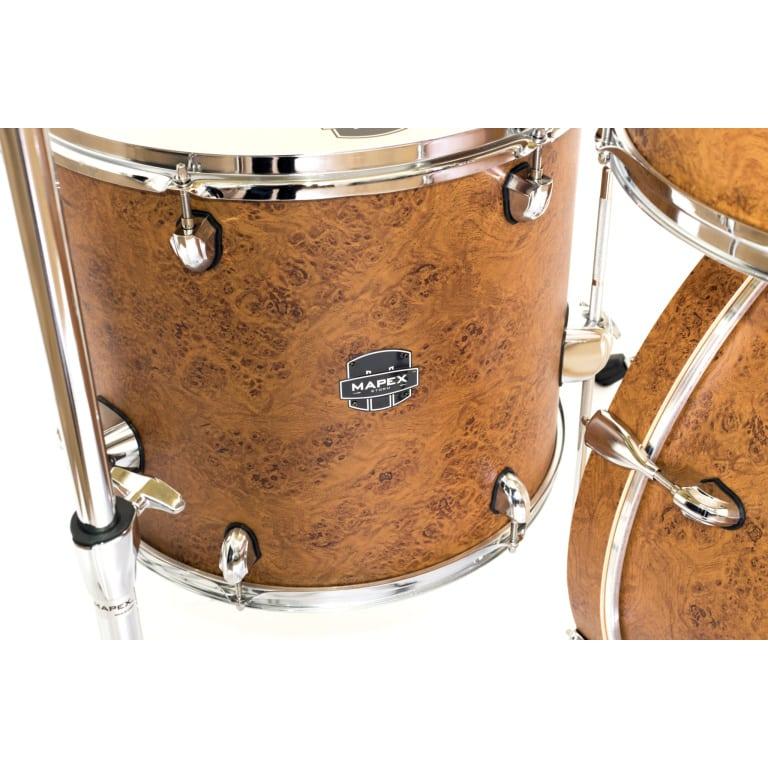 Mapex Storm Rock 5pc Drum Kit – Camphor Wood Finish