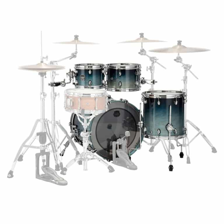 Mapex Saturn 2020 20in 4pc Shell Pack – Teal Blue Fade
