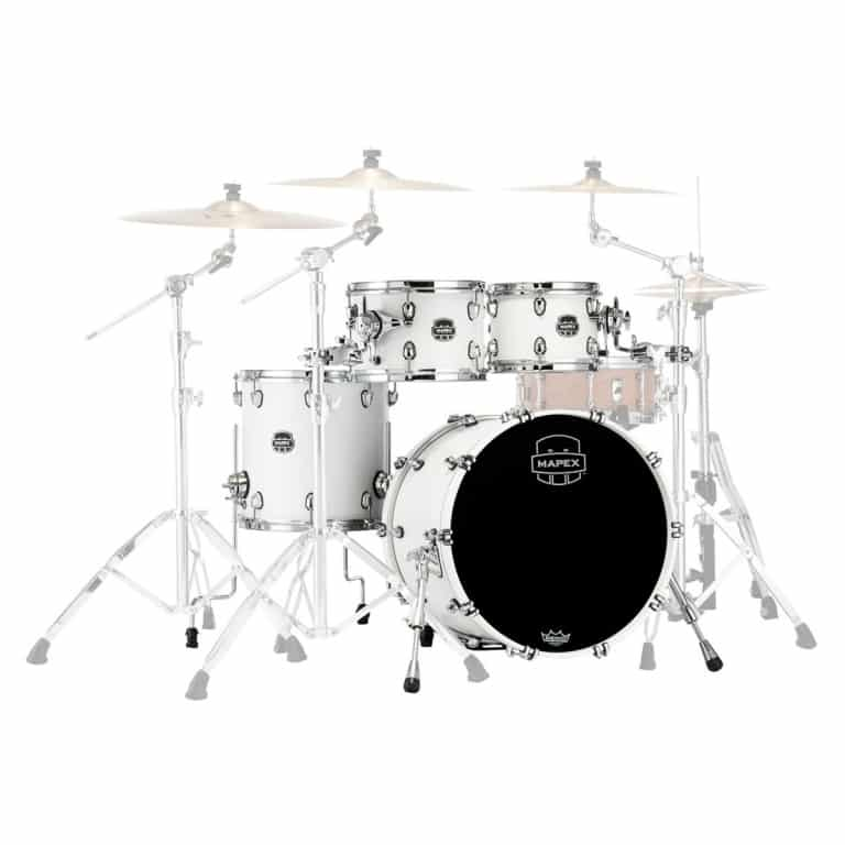 Mapex Saturn 2020 20in 4pc Shell Pack – Satin White