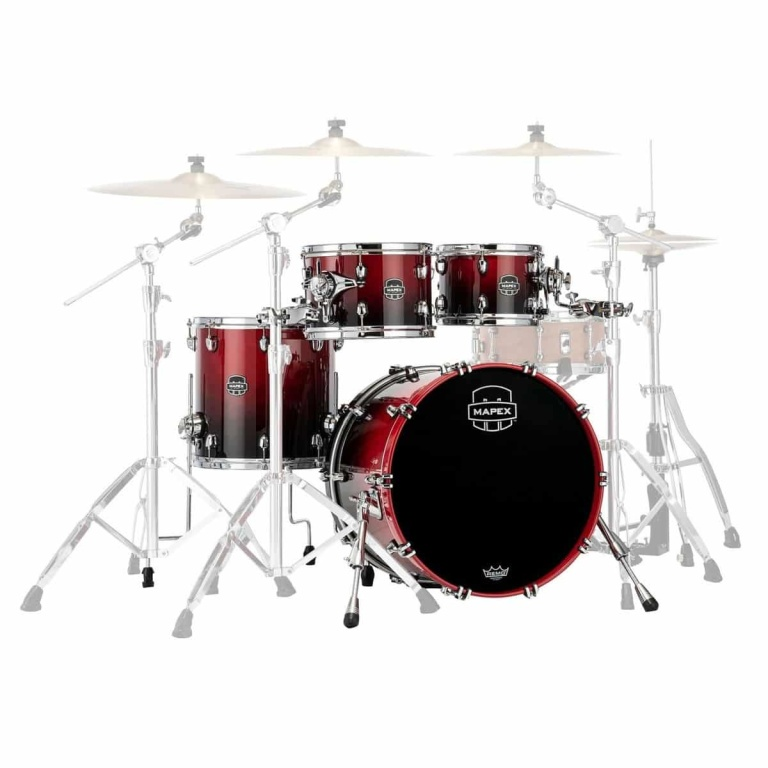 Mapex Saturn 20in 4pc Shell Pack – Scarlet Fade