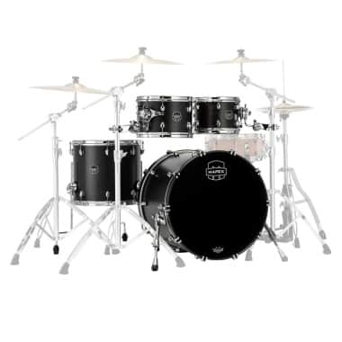 Mapex Saturn 2020 22in 4pc Short Stak Shell Pack – Satin Black