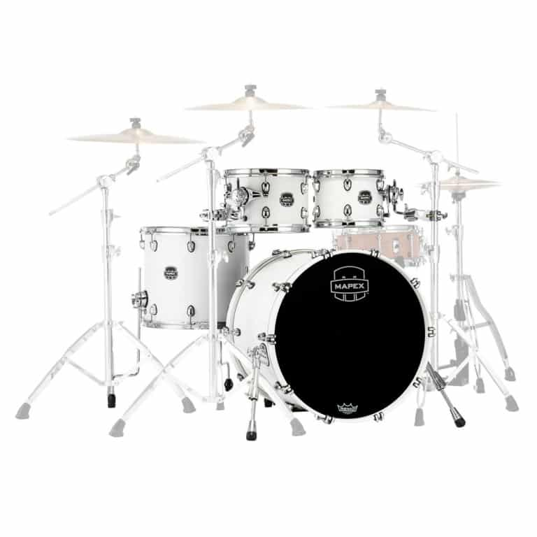 Mapex Saturn 2020 22in 4pc Short Stak Shell Pack – Satin White