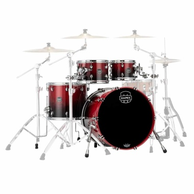 Mapex Saturn 22in 4pc Shell Pack – Scarlet Fade