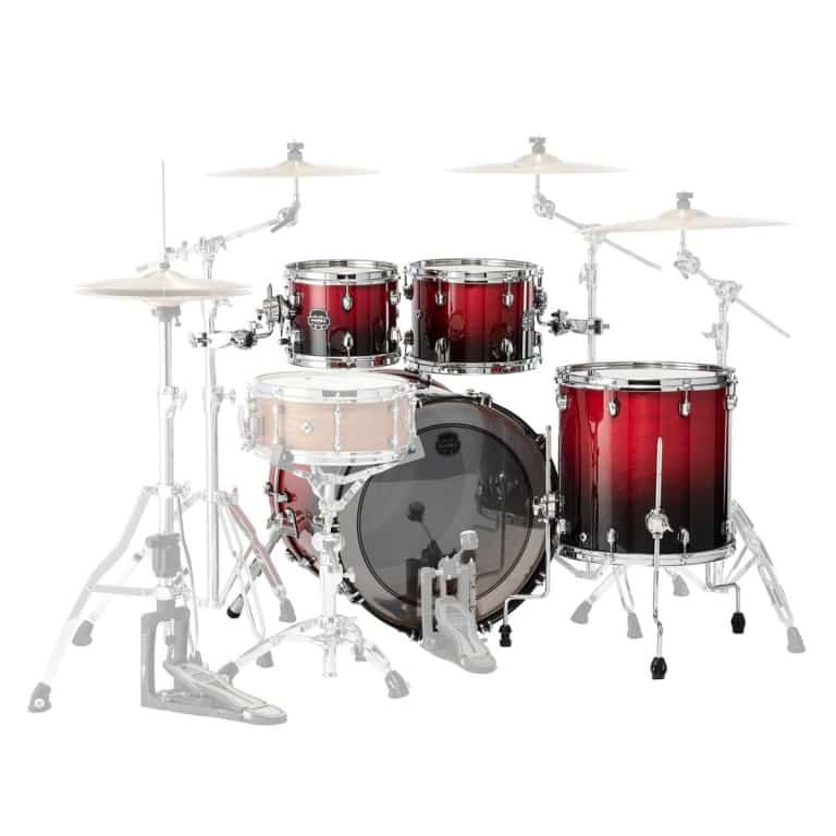 Mapex Saturn 2020 22in 4pc Shell Pack – Scarlet Fade