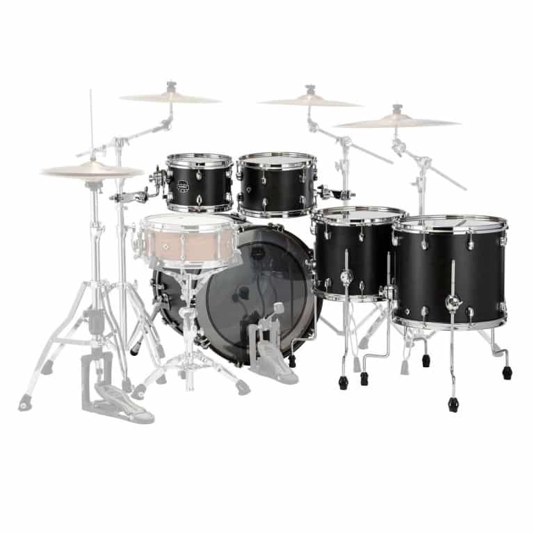 Mapex Saturn 2020 22in 5pc Short Stak Shell Pack – Satin Black