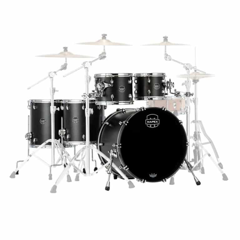Mapex Saturn 2020 22in 5pc Shell Pack – Satin Black