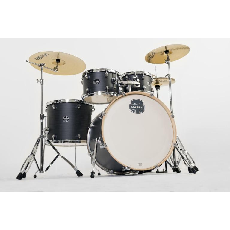 Mapex Storm Rock 5pc Drum Kit – Ebony Blue Finish