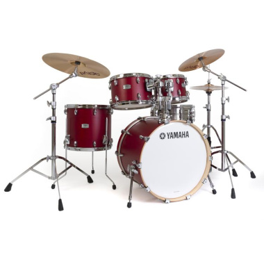 Yamaha Tour Custom 20in 4pc Shell Pack – Candy Apple Satin
