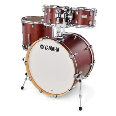 Yamaha Tour Custom 22in 4pc Shell Pack – Chocolate Satin