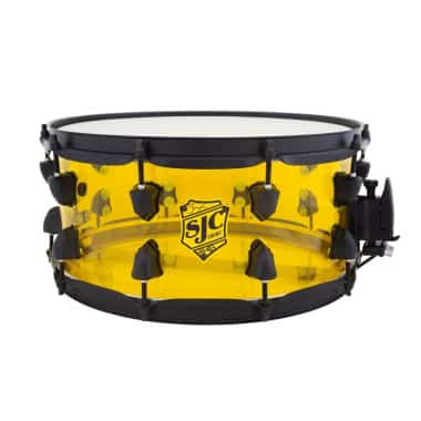 SJC Drums Josh Dun 14×6.5in Acrylic Snare Drum