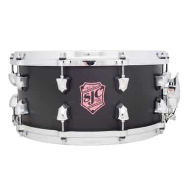 "SJC Drums Tre Cool ""Black Mamba"" 14X6.5in Snare Drum"