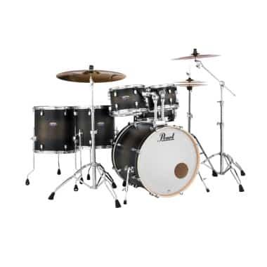 Pearl Decade Maple 6pc Kit – Satin Black Burst