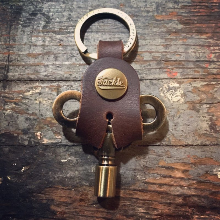Tackle Timekeepers Drum Key – Antique Brass