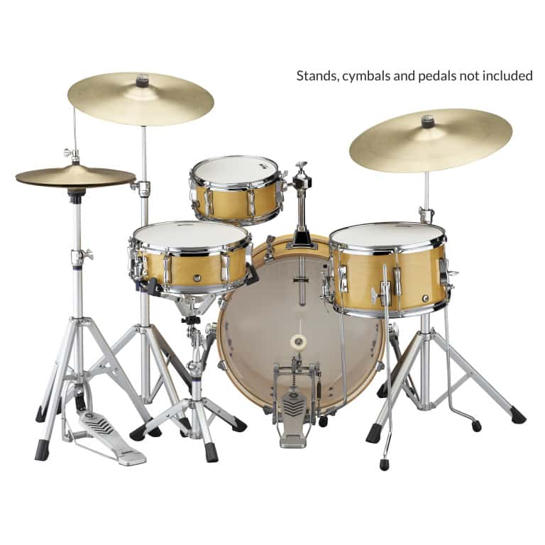 Yamaha Stage Custom Hip 20in 4pc Shell Pack – Natural Wood