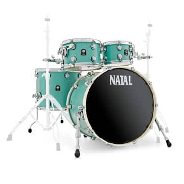 Natal Cafe Racer 22in UFX 4pc Shell Pack – Sea Foam Green – WITH FREE CASES!