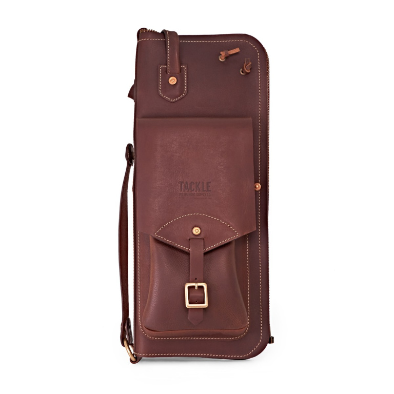 Tackle Leather Stick Case With Patented Stand