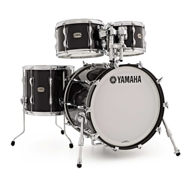 Yamaha Recording Custom 4pc 20in Shell Pack – Solid Black