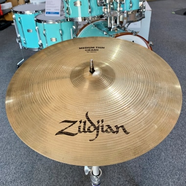 Zildjian A Series Brilliant 16in Medium Thin Crash – Pre-owned
