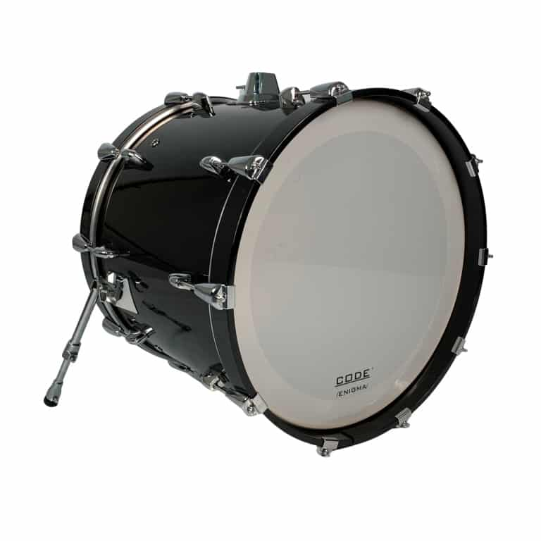 Yamaha Birch Custom Absolute 20x17in Bass Drum, Solid Black – Pre-owned