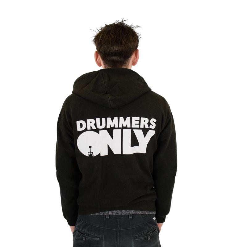 Drummers Only Black Hoodie