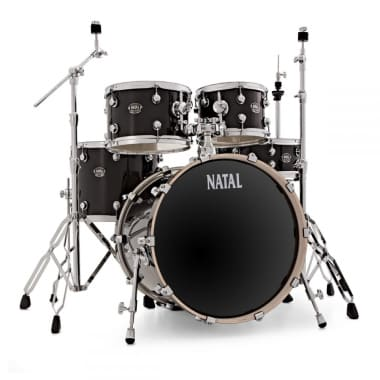 Natal Arcadia Poplar 20in Fusion Shell Pack with Hardware – Black